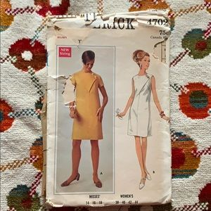Vintage Butterick Dress Pattern